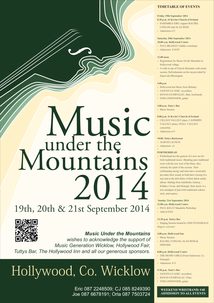Music under the mountain 2014